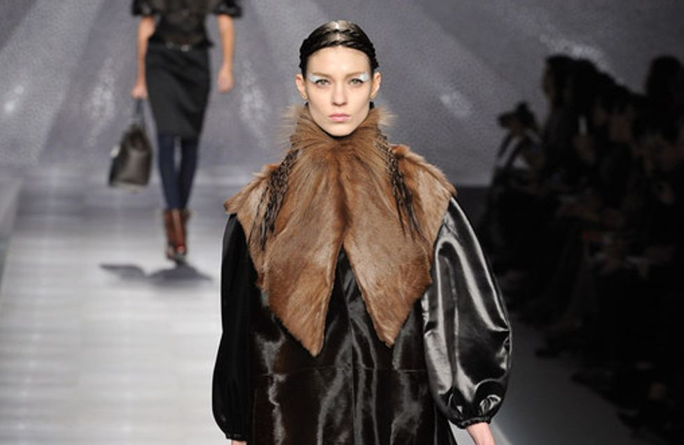 Fendi Milan Fashion Week autumn/winter 2012-2013