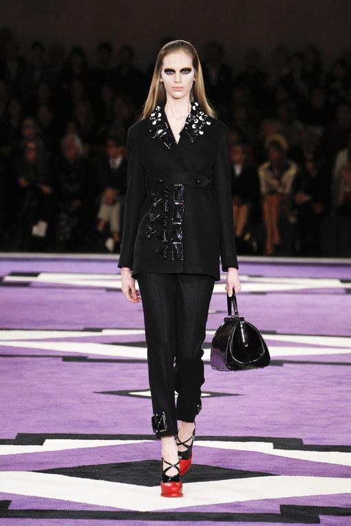 Sfilata Prada autunno inverno 2012-2013 - Milano Moda Donna