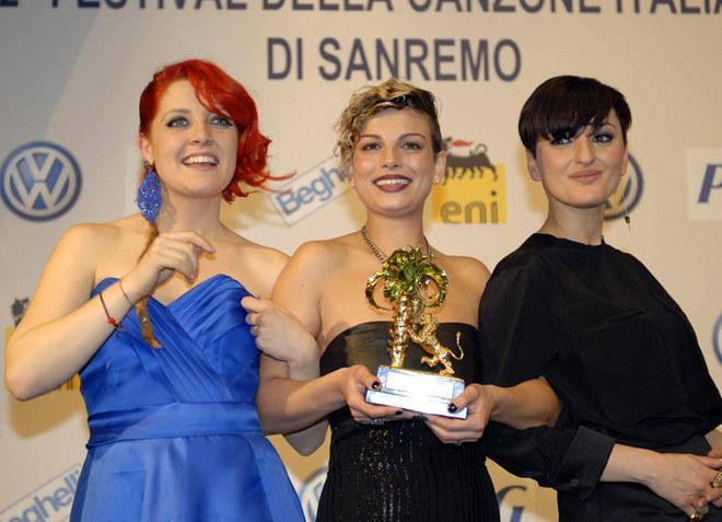 Emma Marrone vince Sanremo 2012