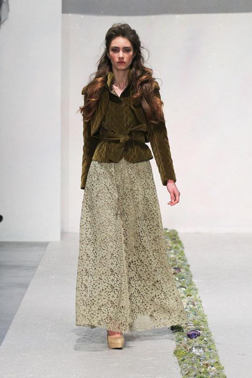 Sfilata Luisa Beccaria autunno inverno 2012-2013 - Milano Moda Donna