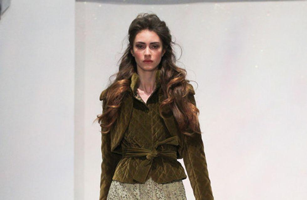 Sfilata Luisa Beccaria Milano a-i 2012-2013