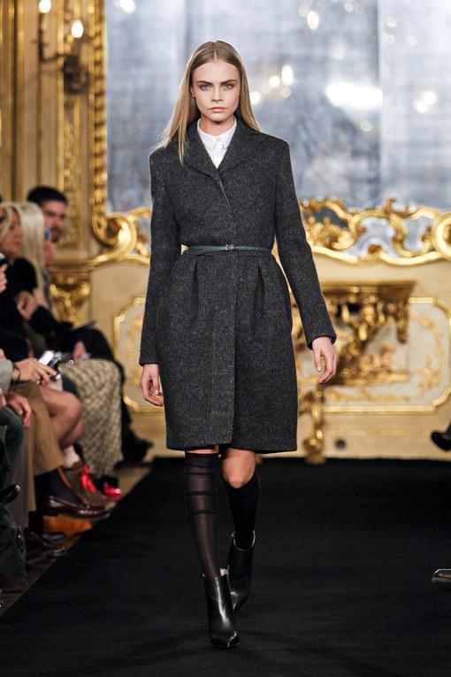 Sfilata 2012 Les Copains autunno inverno 2012-2013 - Milano Moda Donna