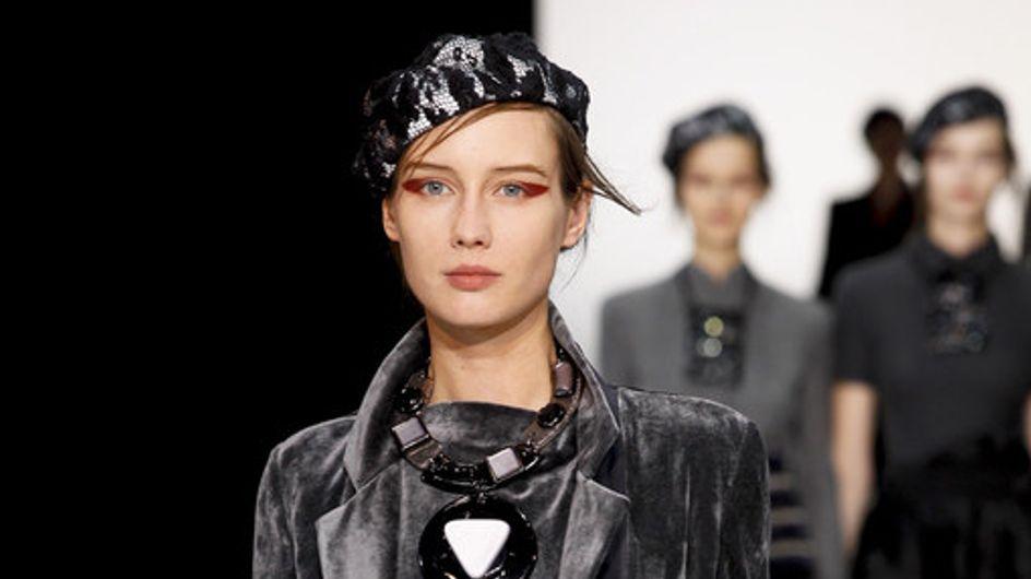 Emporio Armani Milan Fashion Week autumn/winter 2012-2013