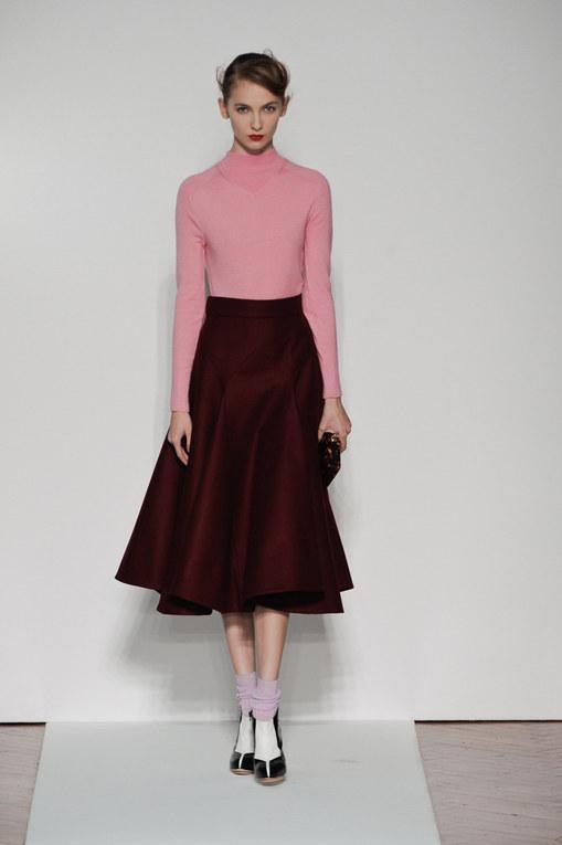 Sfilata Mila Schon autunno inverno 2012-2013 - Milano Moda Donna