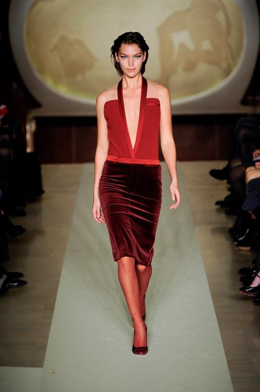 Sfilata Genny autunno inverno 2012-2013 - Milano Moda Donna