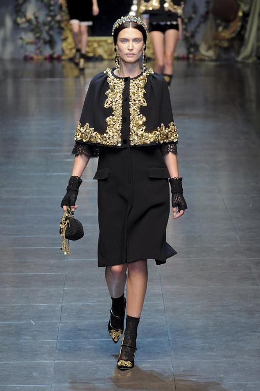 Sfilata Dolce&Gabbana autunno inverno 2012-2013 - Milano Moda Donna