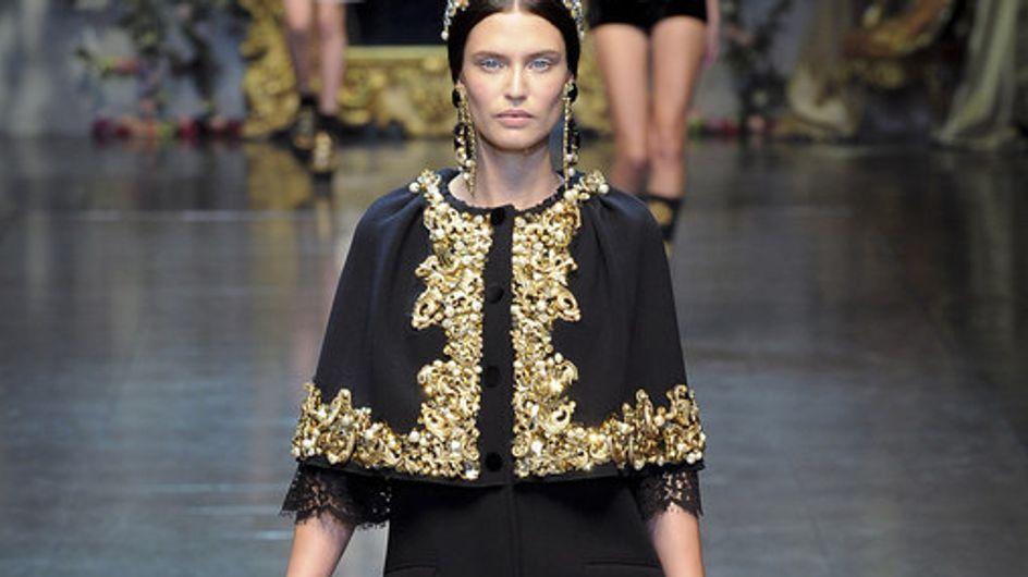 Dolce & Gabbana Milan Fashion Week autumn/winter 2012-2013