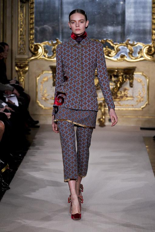 Sfilata Aquilano.Rimondi autunno inverno 2012-2013 - Milano Moda Donna