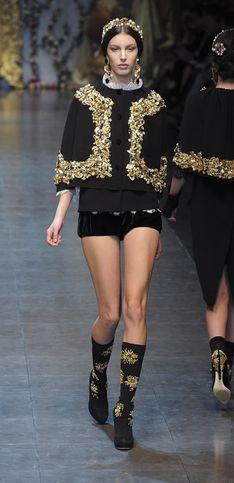 Dolce & Gabbana, esprit néo-baroque