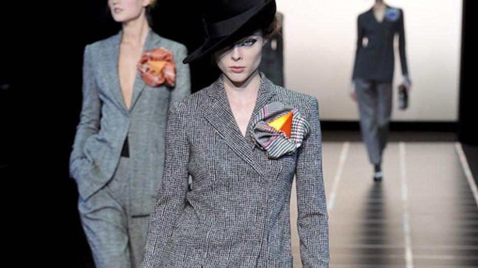 Giorgio Armani Milan Fashion Week autumn/winter 2012-2013