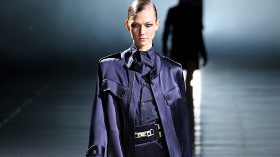 Anthony Vaccarello auf der Fashion Week Paris HW 2012/2013