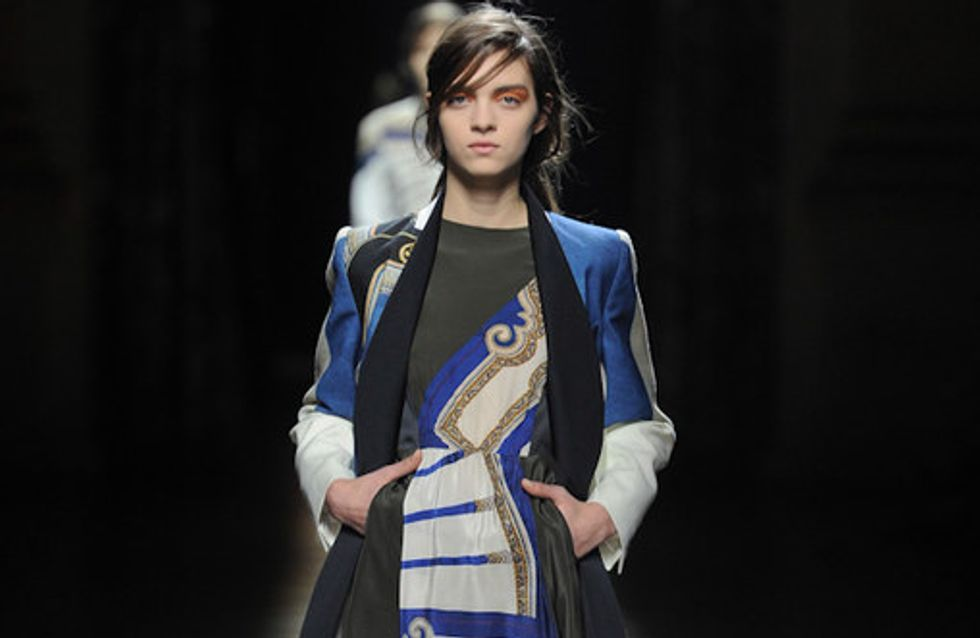 Dries van Noten - Paris Fashion Week Otoño Invierno 2012