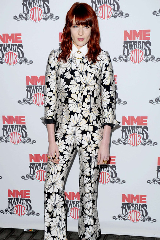 Florence Welch - NME Awards Pictures