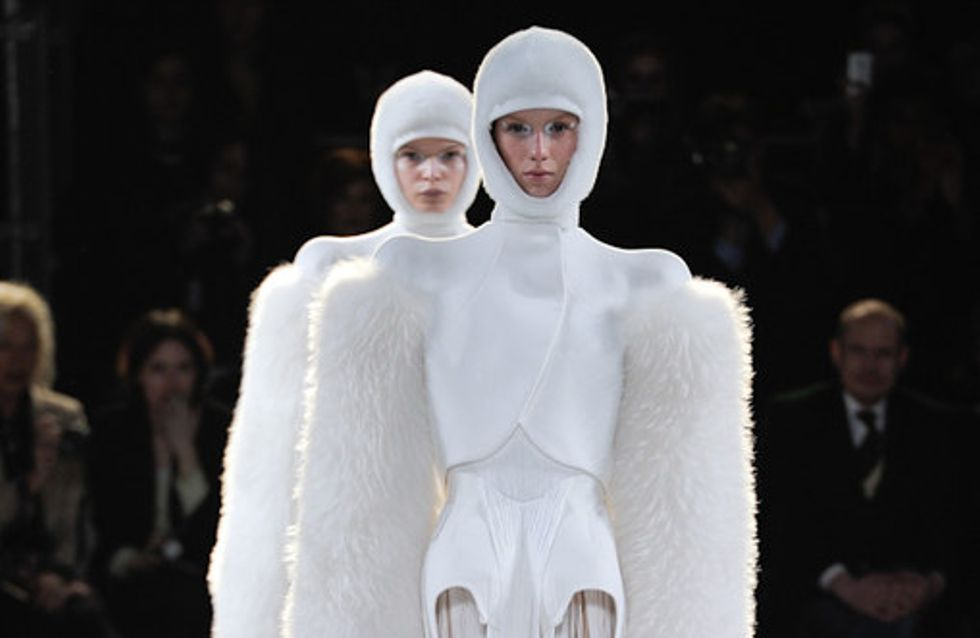 Mugler auf der Fashion Week Paris H/W 2012/2013