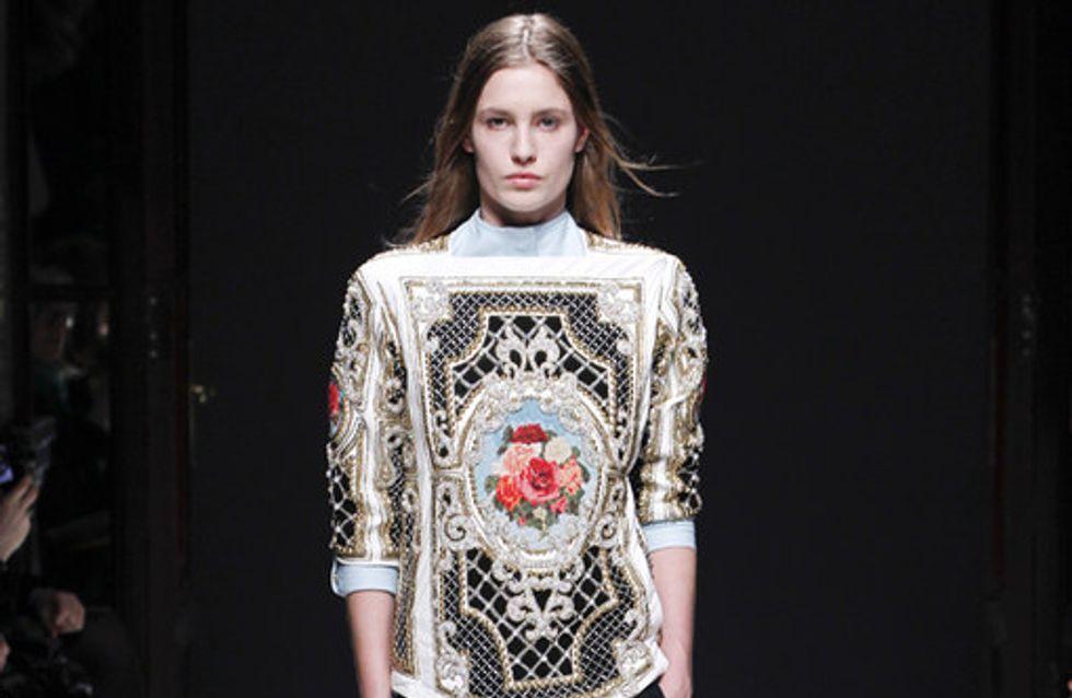 Balmain Parigi Fashion Week autunno/inverno 2012/2013