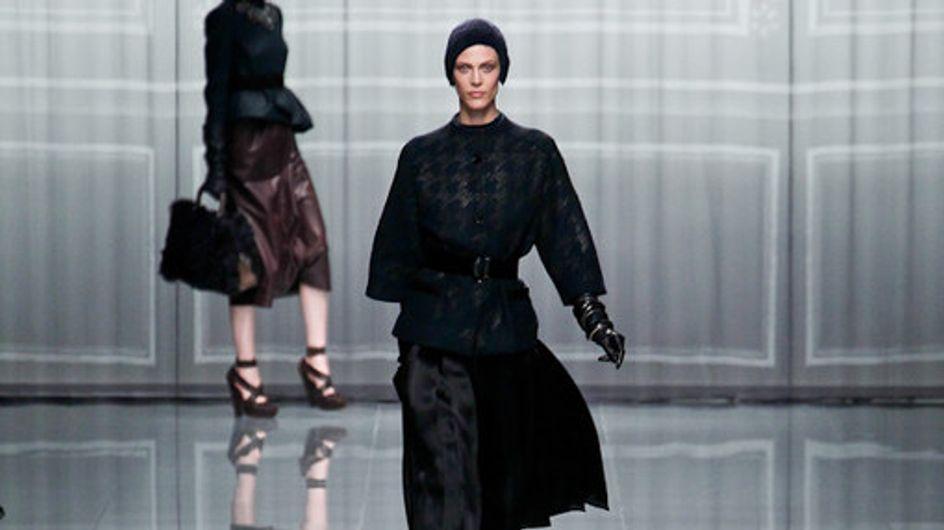 Christin Dior - Paris Fashion Week Otoño Invierno 2012