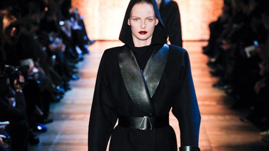 Yves Saint Laurent Paris Fashion Week autumn/winter 2012-2013