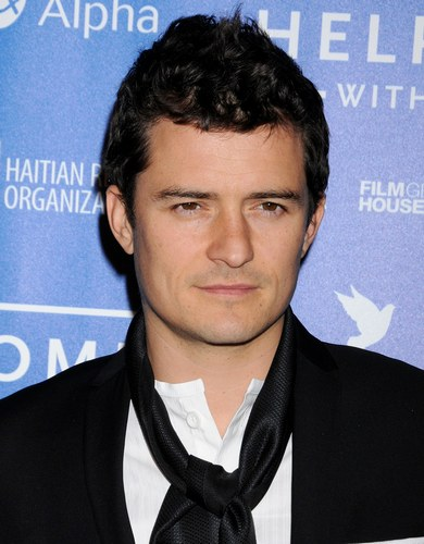 Orlando Bloom alla serata Sean Penn and Friends Cinema for Peace 2012