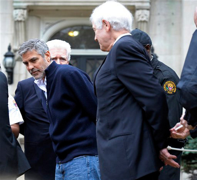 George Clooney arrestato