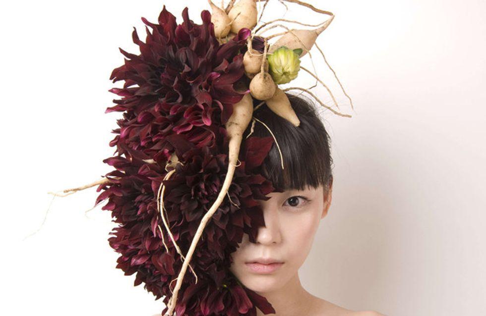 Il verde in testa: le creazioni di Hanayuishi Takaya