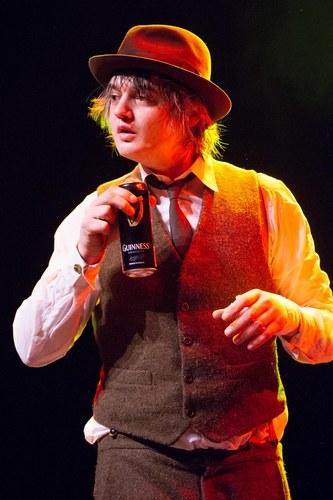 Pete Doherty in concerto a Parigi, 2012