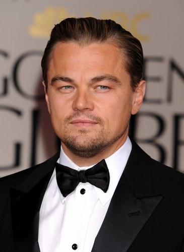 Leonardo DiCaprio ai Golden Globes 2012