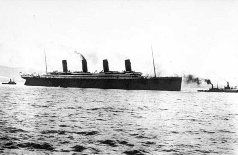 100 anni dalla tragedia del Titanic. Le immagini dell'epoca e del relitto.