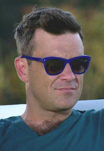 Robbie Williams in una intervista del 2011