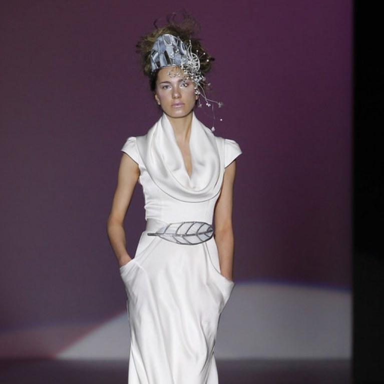 vestidos de novia y fiesta de isabel zapardiez : foto - enfemenino