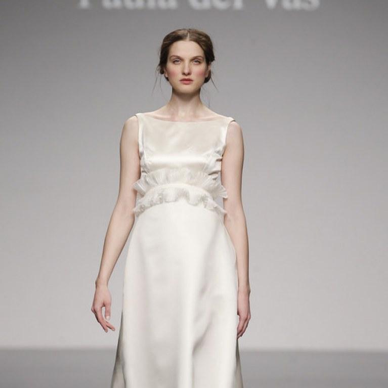 vestidos de novia y fiesta de paula del vas : foto - enfemenino