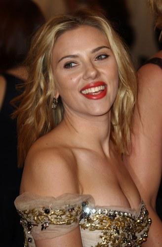 Scarlett Johansson al Costume Istitute Gala Benefit 2012