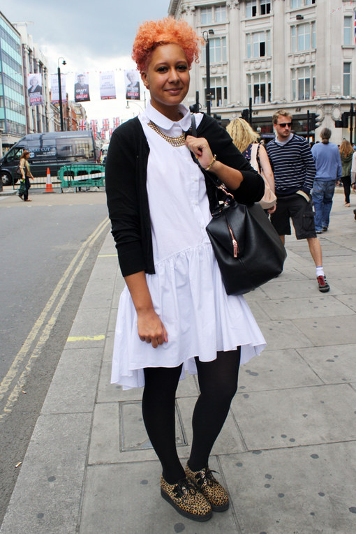 Elle from London - Street Style 2012