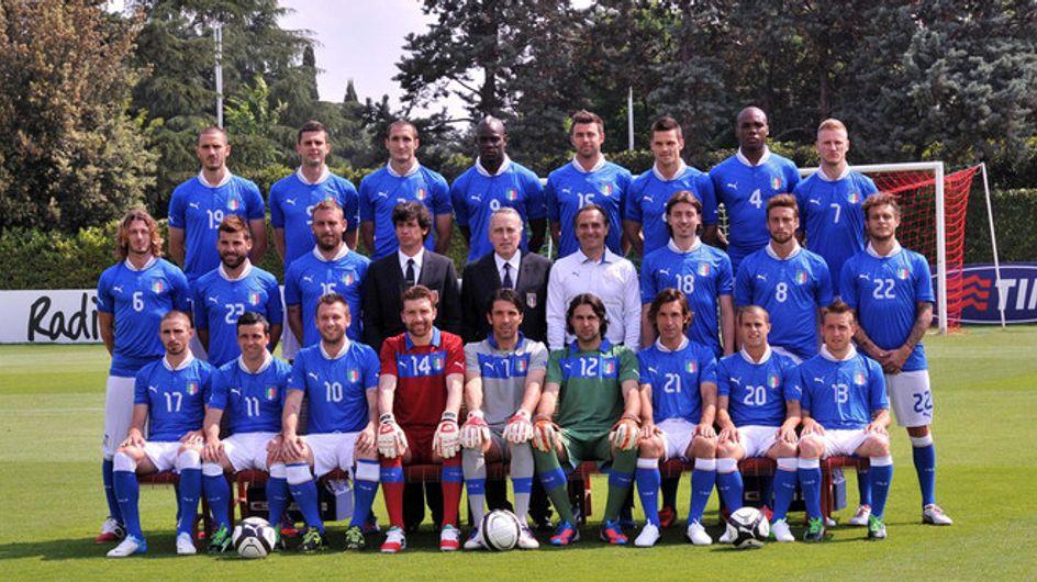 Gallery/ La squadra italiana di Euro 2012