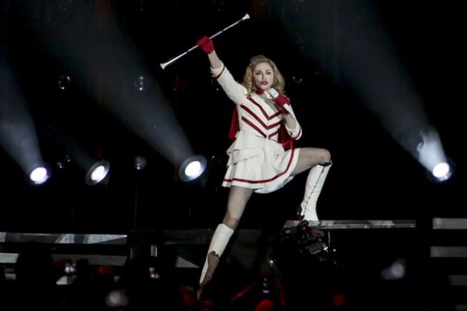 Madonna arriva in Italia con il suo tour MDNA - Tutte le immagini