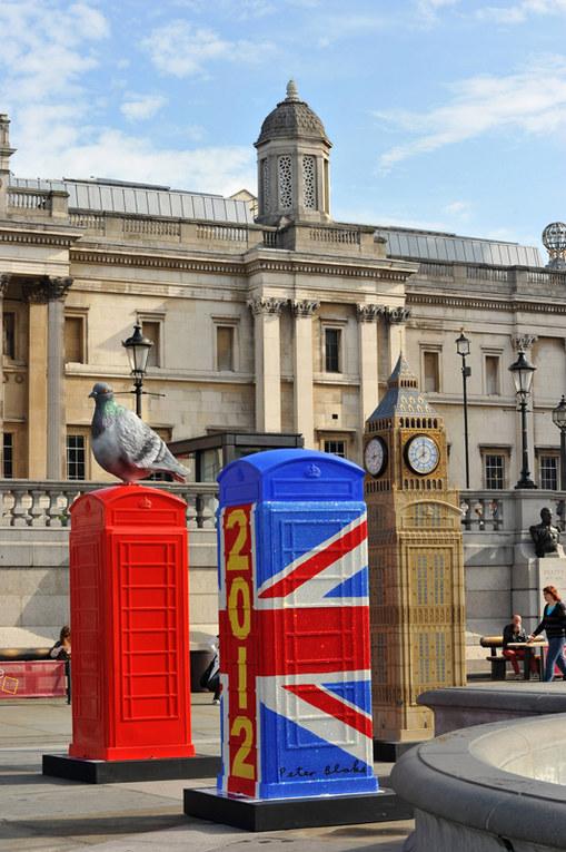 Le cabine artistiche di Londra