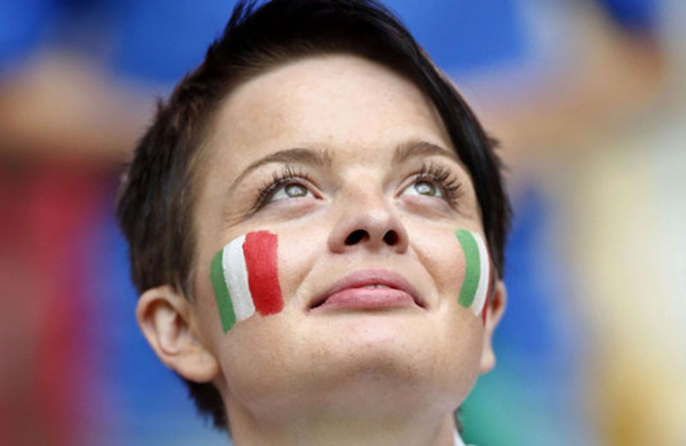 Belle, estrose e appassionate. Le tifose degli Europei 2012