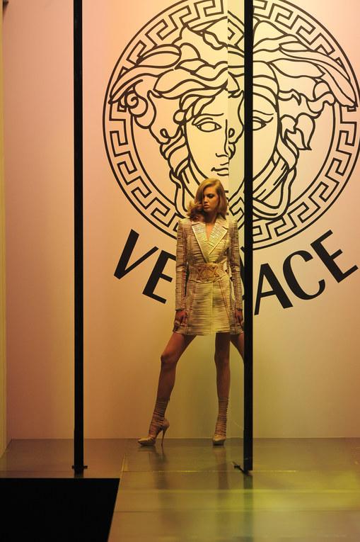 Défilé Versace Haute Couture Automne-Hiver 2012-2013