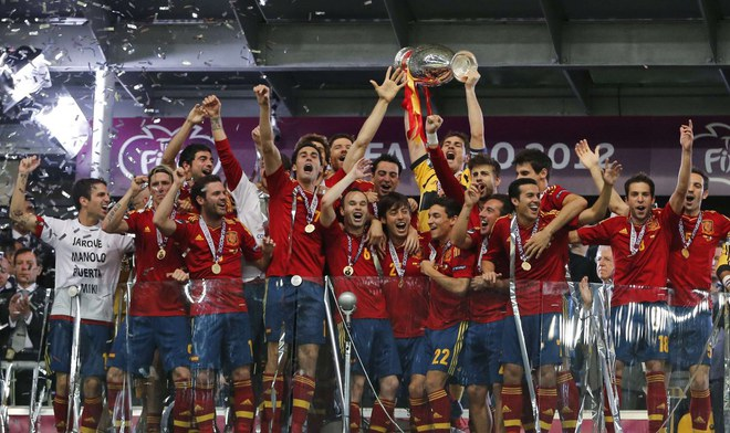 La selección española gana su tercer título consecutivo
