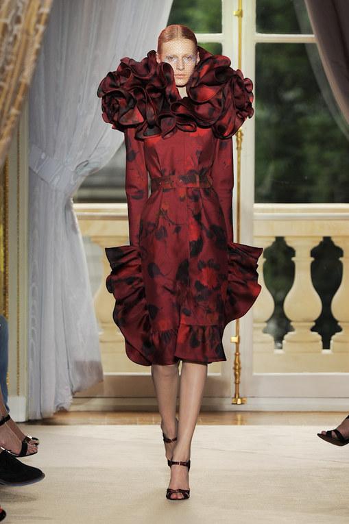 Défilé Giambattista Valli - Défilé Haute-Couture Automne-Hiver 2012-2013
