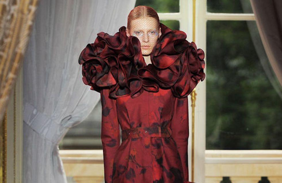 Giambattista Valli at Haute Couture Fashion Week Paris: A/W 2012-2013