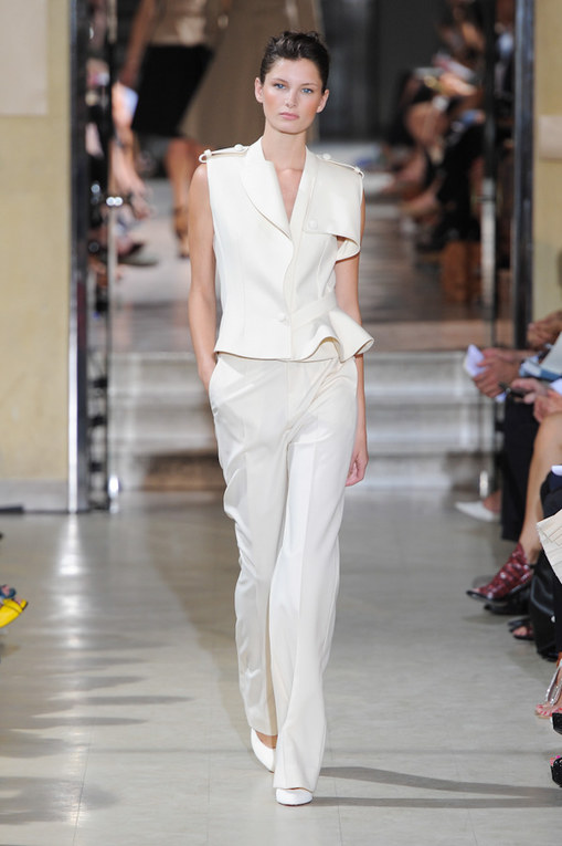 Bouchra Jarrar at Haute Couture Fashion Week Paris: A/W 2012-2013