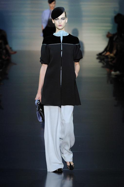 Défilé Giorgio Armani Privé Haute Couture Automne-Hiver 2012-2013