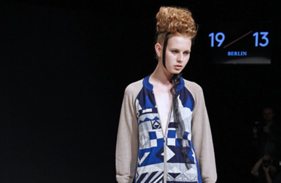 1913Berlin by Yujia Zhai-Petrow: Mercedes-Benz Fashion Week Berlin FS 2013