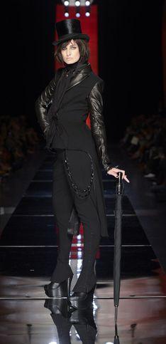 Jean Paul Gaultier, le dandy au féminin