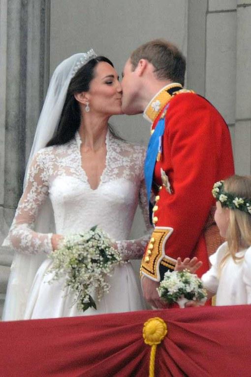 Celebrity zoenen: Kate en William