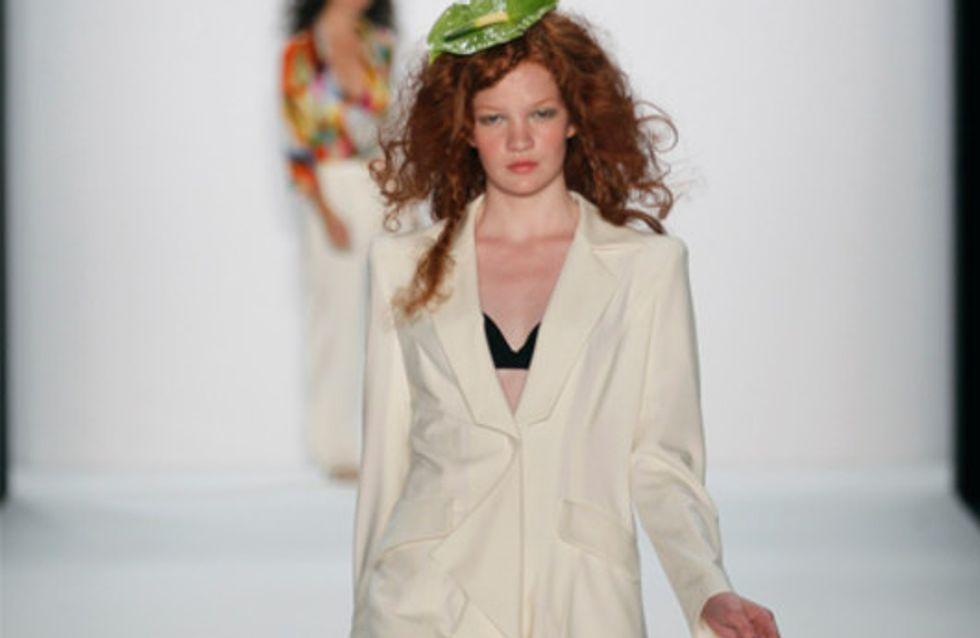 Anja Gockel: Mercedes-Benz Fashion Week Berlin Frühjahr/Sommer 2013