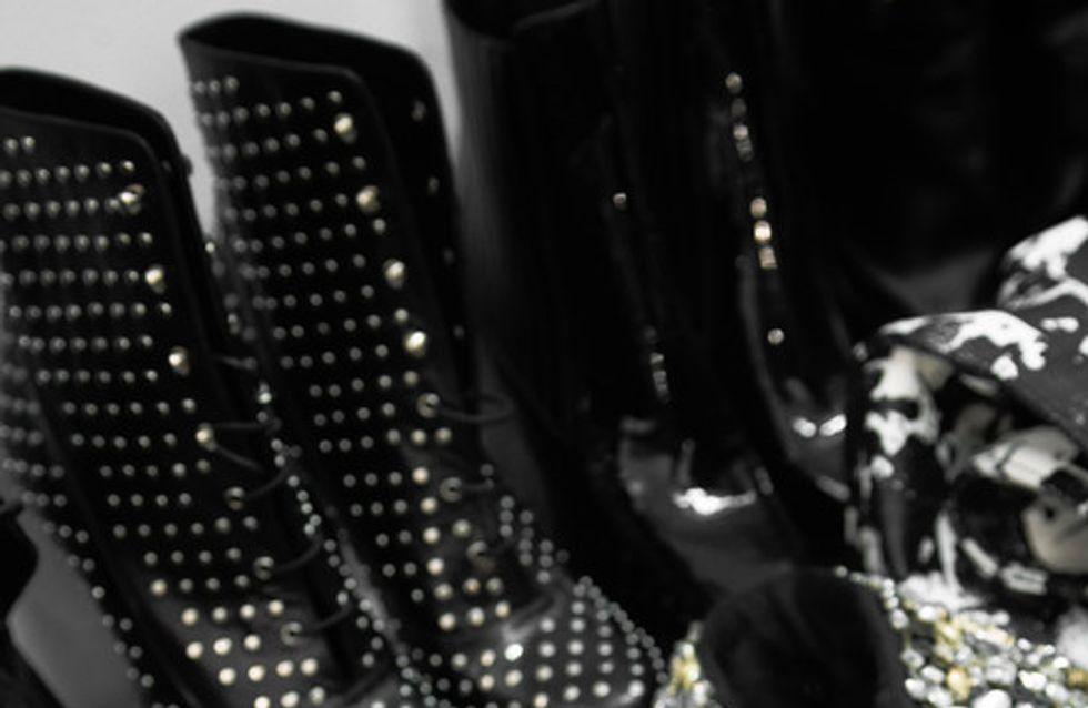 Baptiste Giabiconi et Anja Rubick dans l'oeil de Karl, Campagne Karl Lagerfeld A