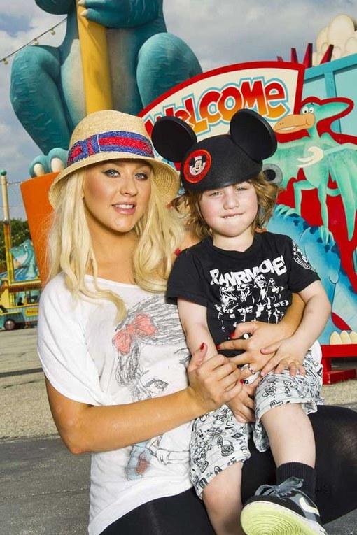 Kinderen van celebrities: Christina Aguilera en Max