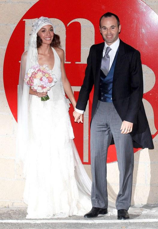 Andrés Iniesta y Anna Ortiz se dan el