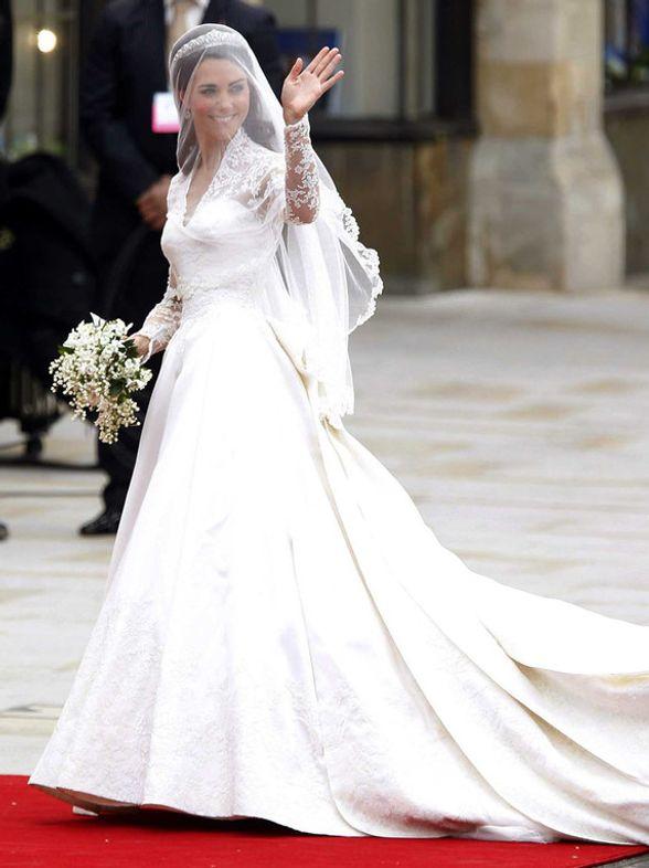Celebs wedding dresses